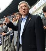 김종덕 문화체육 장관 메르스 관련 잠실경기장 방문