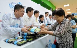 단백한 건강 밥상 캠페인 MOU 체결