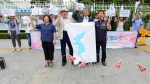 남북대화재개 촉구 기자회견