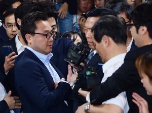 롯데그룹 신동빈 회장 법원 출두