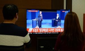 미 대선 민주 힐러리 공화 트럼프 2차 TV토론회
