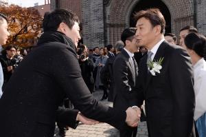 길용우 아들 길성진 결혼식