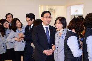 개혁보수신당, 환경미화원과 함께 떡국 신년회