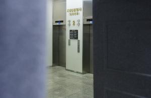 박근혜 대통령 법원 출석 포토라인