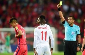 FIFA U-20 월드컵 코리아 A조 예선 대한민국과 기니의 경기