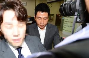 법정 나서는 커피스미스 손태영 대표
