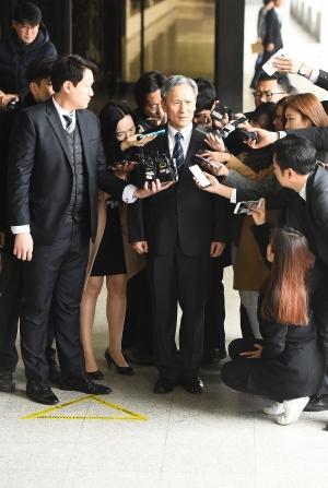 김관진 검찰 출석
