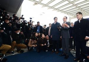 이명박 전 대통령, '바레인 출국'