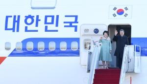 문재인 대통령 중국 국빈방문 출국