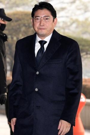 조현준 회장 검찰 출석