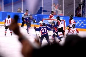 평창올림픽 여자 아이스하키 한일전