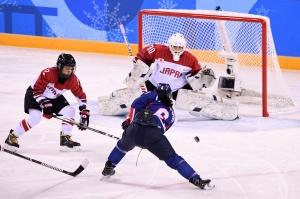 평창동계올림픽 여자 아이스하키 한일전