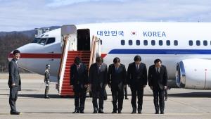 평양길 오른 대북 특사단