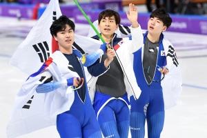 평창동계올림픽 스피드스케이팅 남자 팀추월 준결승