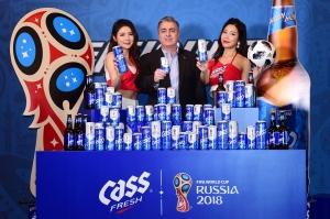 카스 월드컵 스페셜 패키지 출시 포토행사