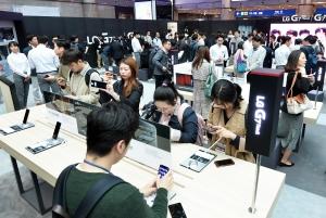 LG전자, 전략 스마트폰 'LG G7 ThinQ'발표
