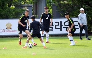 온두라스 평가전 앞둔 축구대표팀