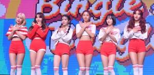그룹 AOA 빙글뱅글(BINGLE BANGLE) 쇼케이스