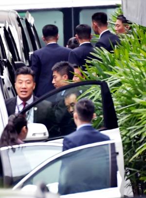 '북미회담 열린 싱가포르 현장'