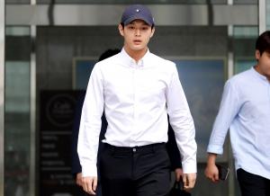 배우 이서원 첫 공판