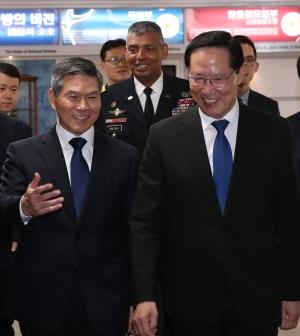 국방부 장관 이·취임식