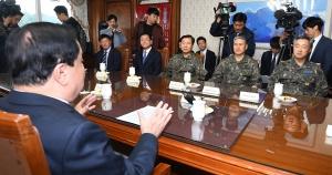 문희상 국회의장 군부대 격려 방문