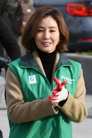청정원 나눔행사 참석한 김성령