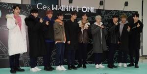 그룹 워너원, 패션 브랜드 '씨이앤(Ce&)' 팬사인회