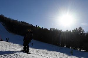 스키장 찾은 시민들