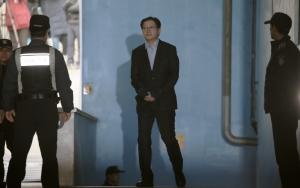 법정구속된 김경수 경남지사