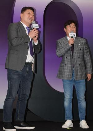 SK텔레콤-갤럭시 S10 개통행사 참석한 개그맨 강호동, 이수근