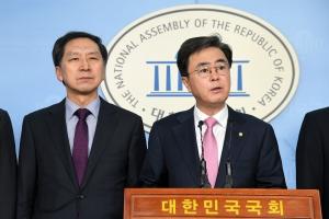 측근비리 무혐의, 기자회견 갖는 김기현 전 울산시장