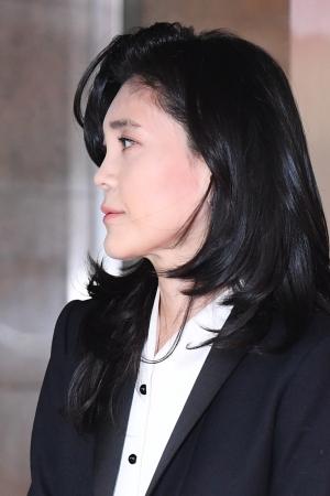 신라호텔 주주총회 참석하는 이부진 사장
