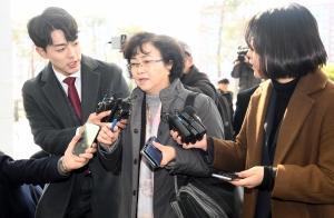 검찰에 3차 소환된 김은경 전 환경부 장관