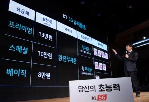 KT 5G 서비스 출범 기념 기자간담회