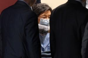 박근혜 성모병원 외출