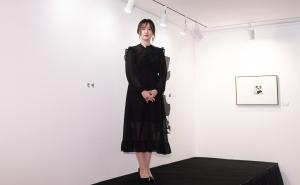'구혜선:니가 없는 세상, 나에겐 적막'의 개최 기념 기자회견