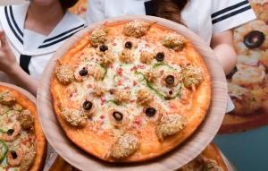 미스터피자 여름 신메뉴 '씨푸드아일랜드' 피자 출시