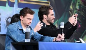 스파이더맨: 파 프롬 홈 내한 기자회견
