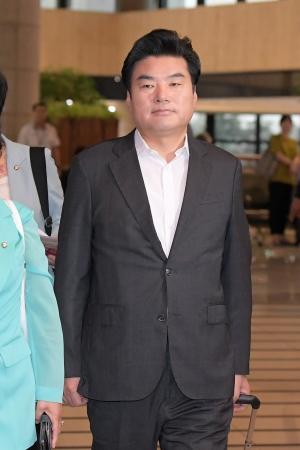 일본으로 출국하는 '국회 방일단'