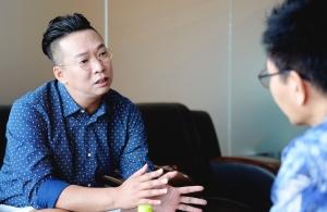 개그맨 박준형 인터뷰