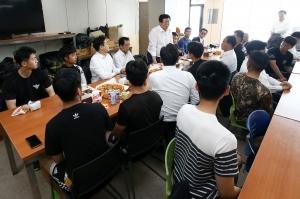 독도 방문한 독립운동 유족 국회의원