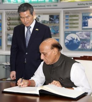 한-인도 국방장관 회담