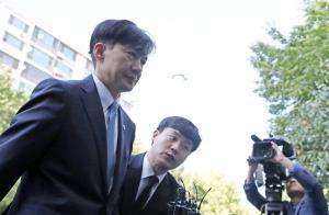 검찰개혁-장관사퇴., 다 마치고 집으로 향한 조국