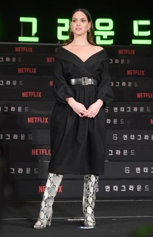 넷플릭스 제작 영화 '6 언더그라운드' 내한 기자간담회