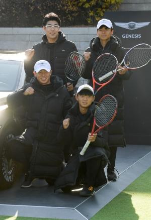 '제네시스와 함께하는 정현 선수와의 만남 2019' 행사