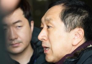 김기현 전 울산시장 '청와대 하명수사 의혹' 검찰 참고인 조사 출석