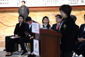 배현진, 황교안 대표의 일일 대변인