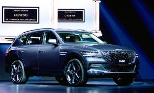 제네시스, 국내 첫 럭셔리 SUV 'GV80' 발표