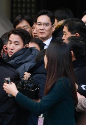 파기환송심 4차 공판 마친 이재용 삼성전자 부회장